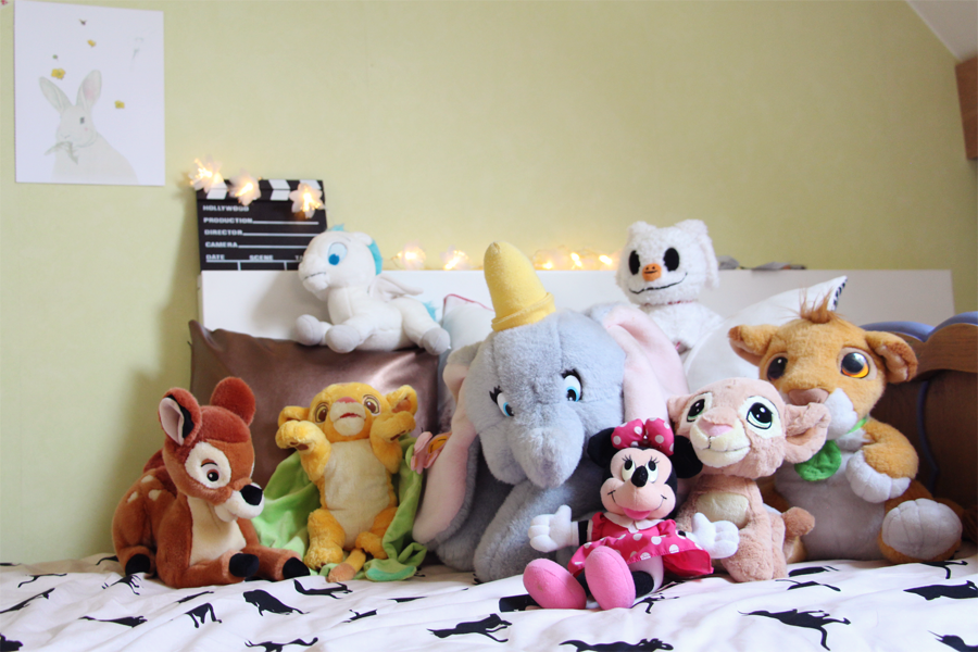 collection peluches Disney