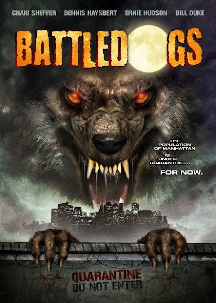Poster Of Battledogs 2013 720p BRRip Dual Audio Hindi and English