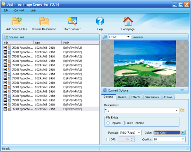 برنامج تحويل صيغ الصور
