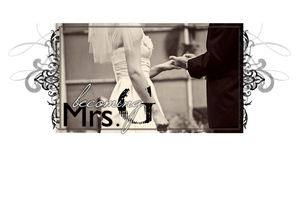 Becoming Mrs. G