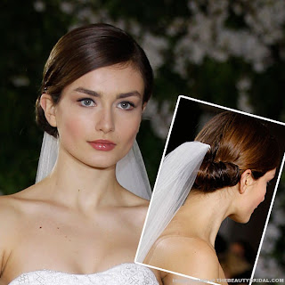 Carolina Herrera Wedding Hairstyle1 Gorgeous Wedding Hairstyles Ideas 2013