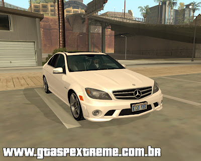 Mercedes-Benz C63 AMG 2010 para grand theft auto