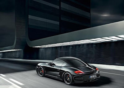 Porsche-Cayman-S-Black-Edition-10-HP-Back-Angle
