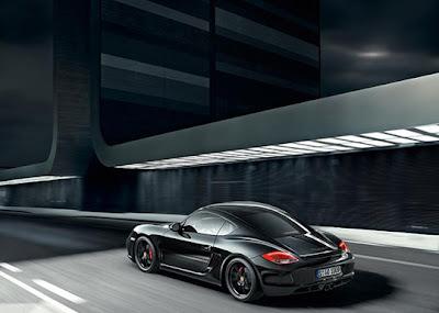 Porsche-Cayman-S-Black-Edition-10-HP-Back-Angle