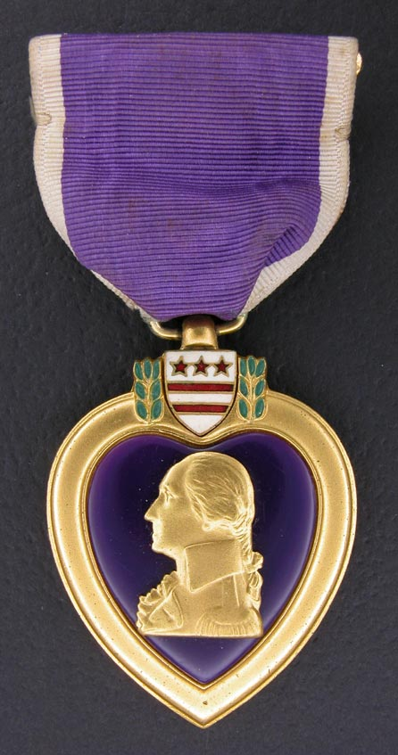 so the Purple Heart medals awarded today are part of that stock