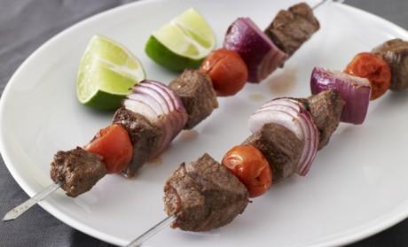 LEBANESE RECIPES: Marinated Lamb Kebabs