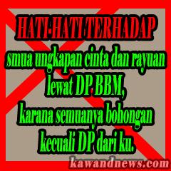 DP bbm Cinta romantis