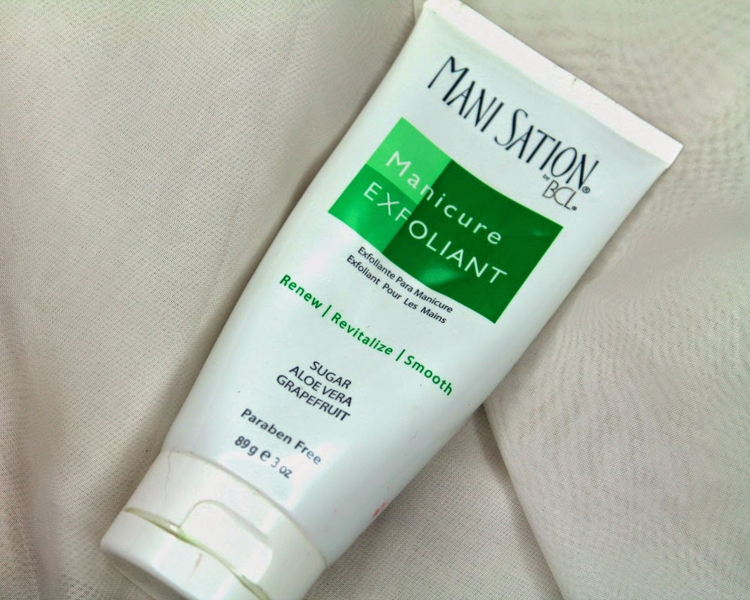 Mani sation bcl manicure exfoliant