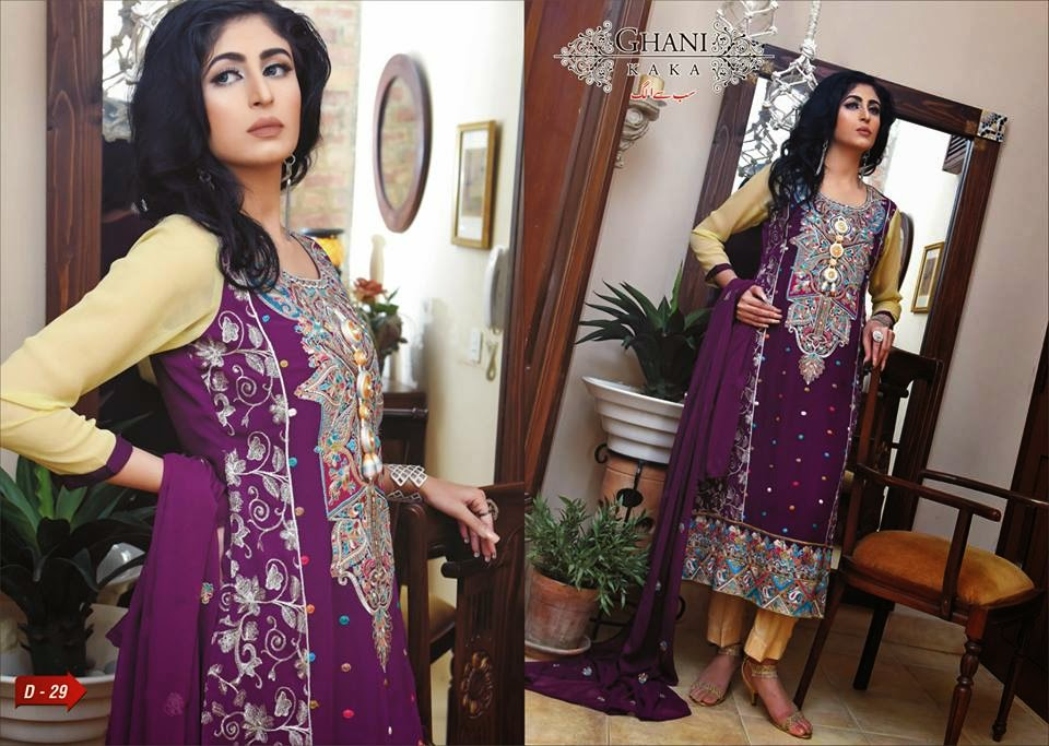 Latest-embroidered-chiffon-dress-for-girls