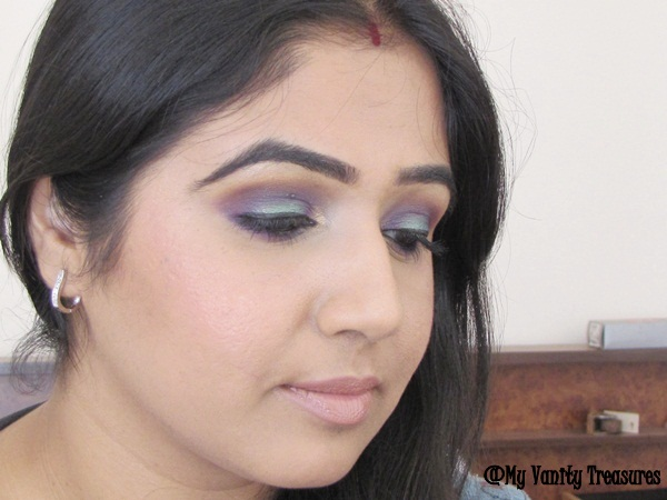 Teal and Purple Eye Makeup Tutorial