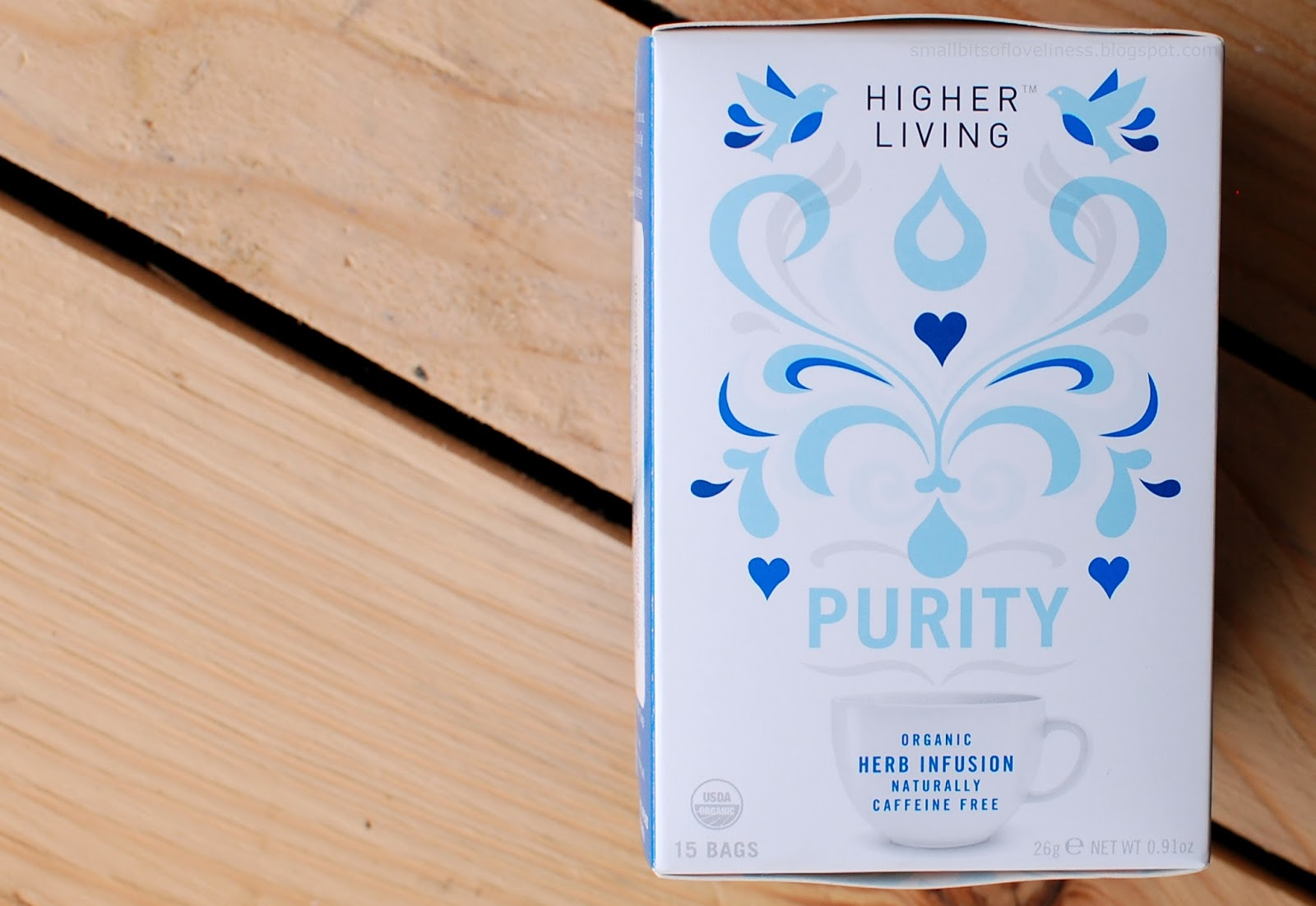 Higher Living Puritiy Organic Herb Infusion Tea