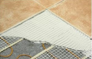Guest Post The Joys Of Radiant Floor Heat Jamie Gold Kitchen And - Best way to heat tile floor