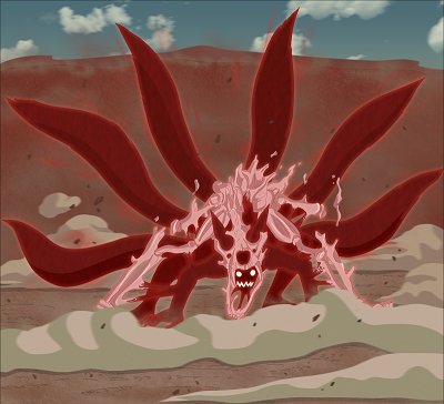 Naruto Five Tailed Fox Form All 7 Naruto Forms - P...