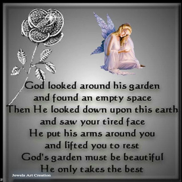 God's Garden ~ Jewels Art Creation