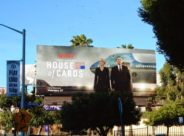 House of Cards season 3 billboard