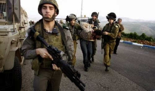 Tentara Israel tahan warga Palestina