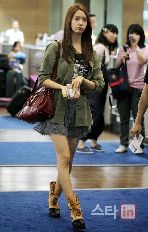Yoona fashion casual dress