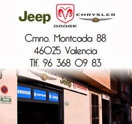 Talle oficial Jeep, Chrysler y Dodge en Valencia