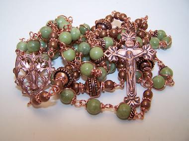 No. 155.  Rosary Of The Prayerful Mary