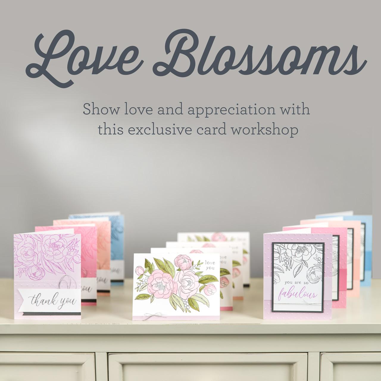 Love Blossoms Cardmaking Workshop