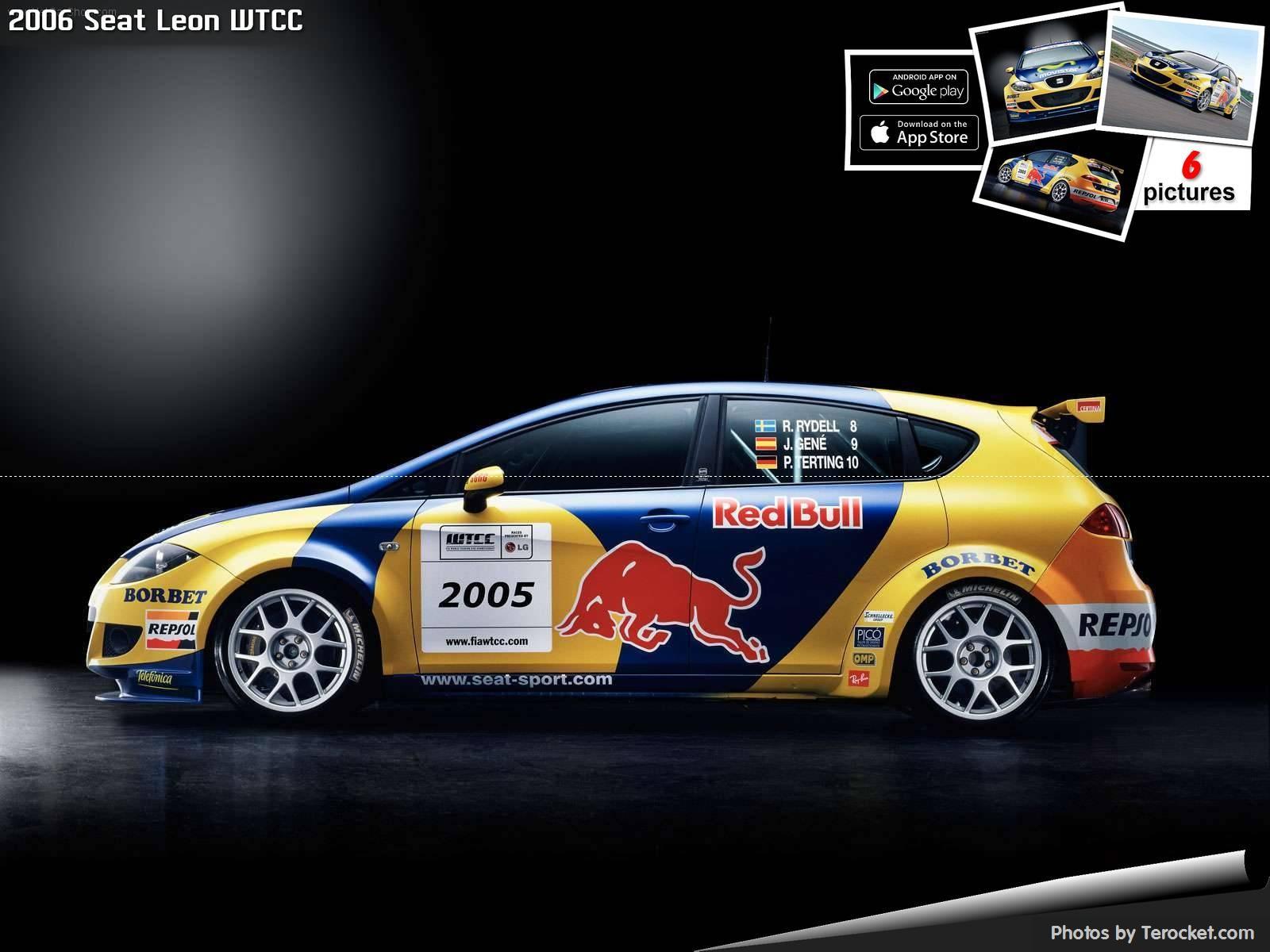 Hình ảnh xe ô tô Seat Leon WTCC 2006 & nội ngoại thất