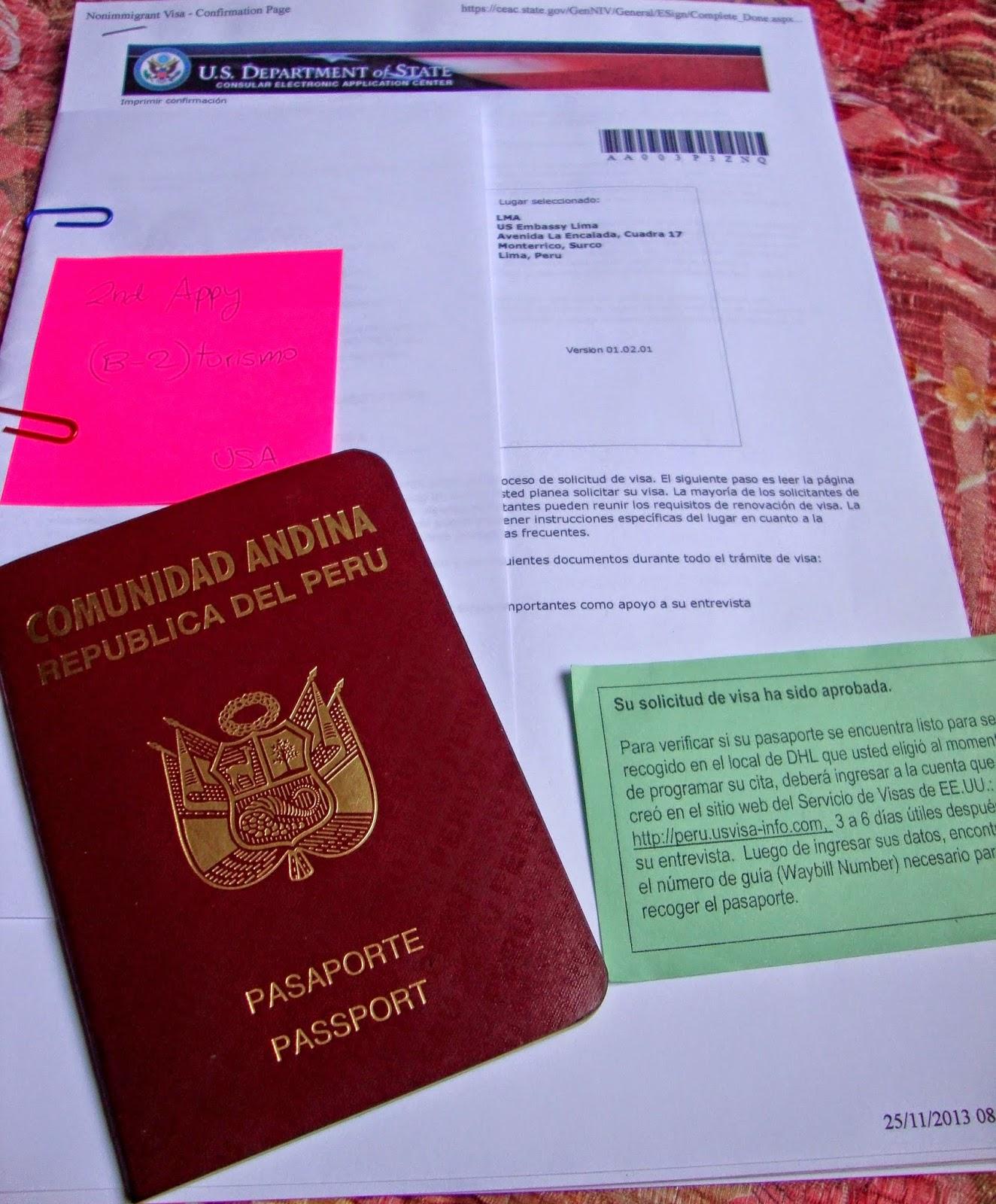 Visa USA B-2: Tips y Pasos para obtener la Visa de Turismo desde la ...