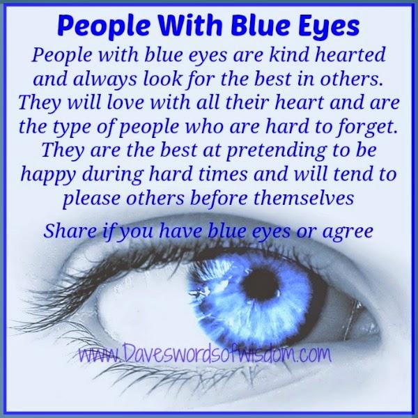Daveswordsofwisdom People With Blue Eyes
