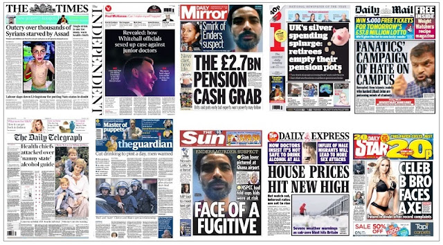 Jan 8 front pages