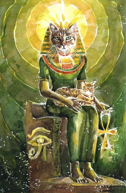 Правда Иллюминатах кошка в веровании славян издают