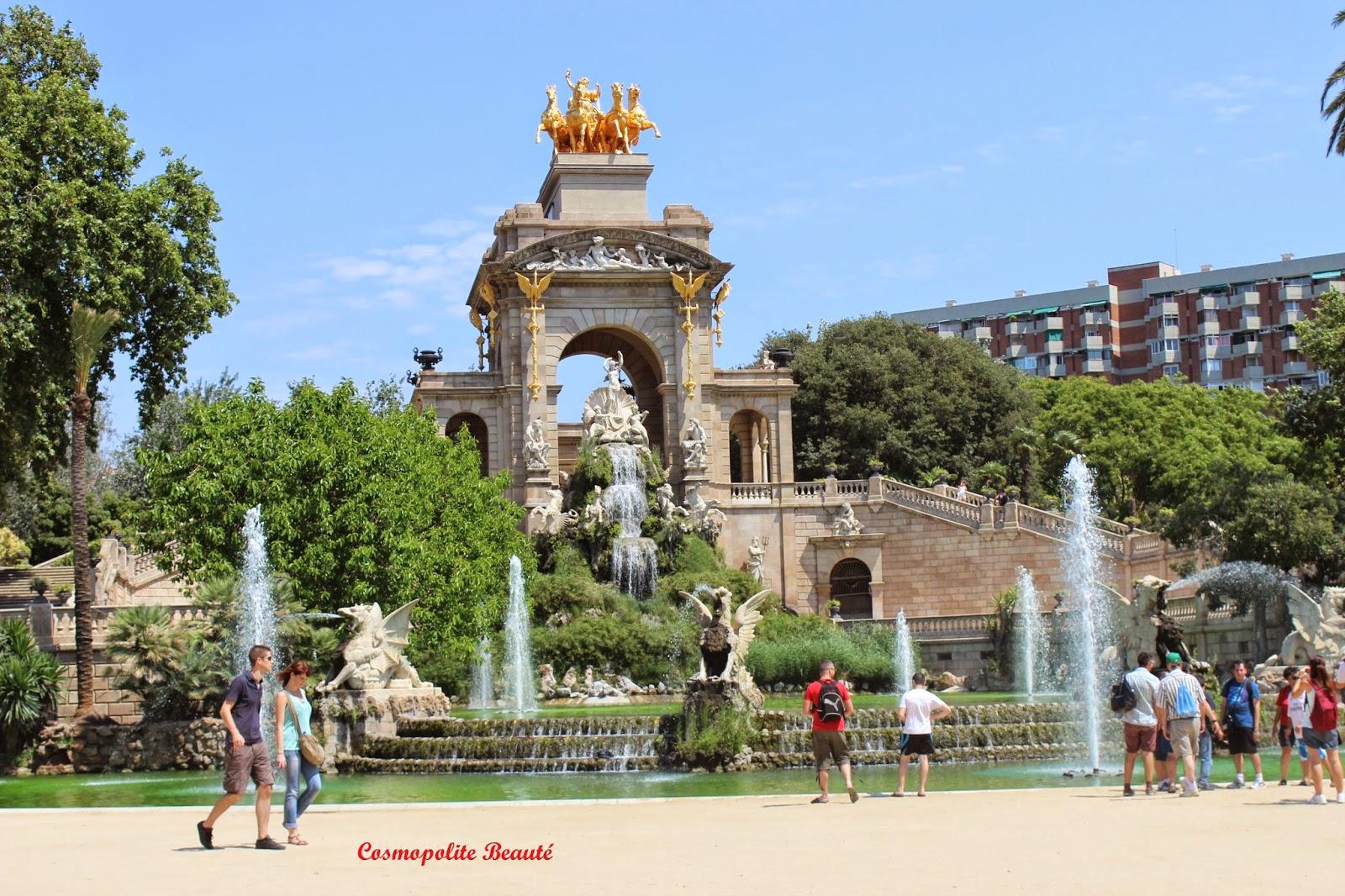 La ciutadella, Barcelone, Espagne, voyage, carnet de voyage, Barcelona, beauté, mode, boutiques