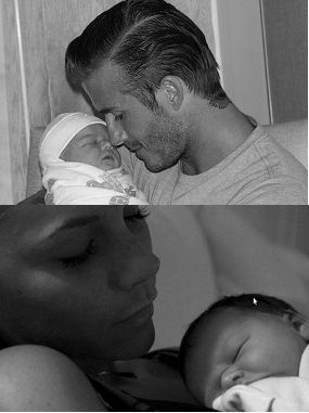 berita  Foto Putri Pertama David & Victoria Beckham
