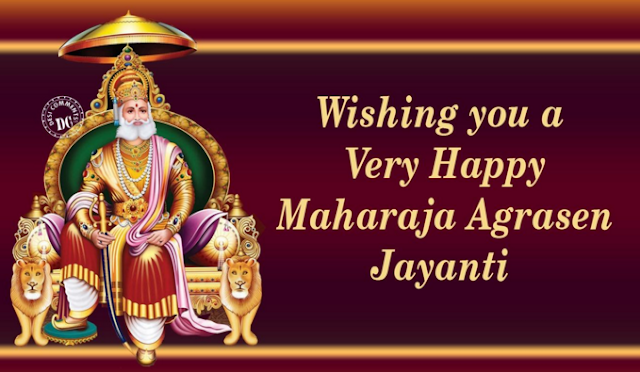 Happy Maharaja Agrasen Jayanti