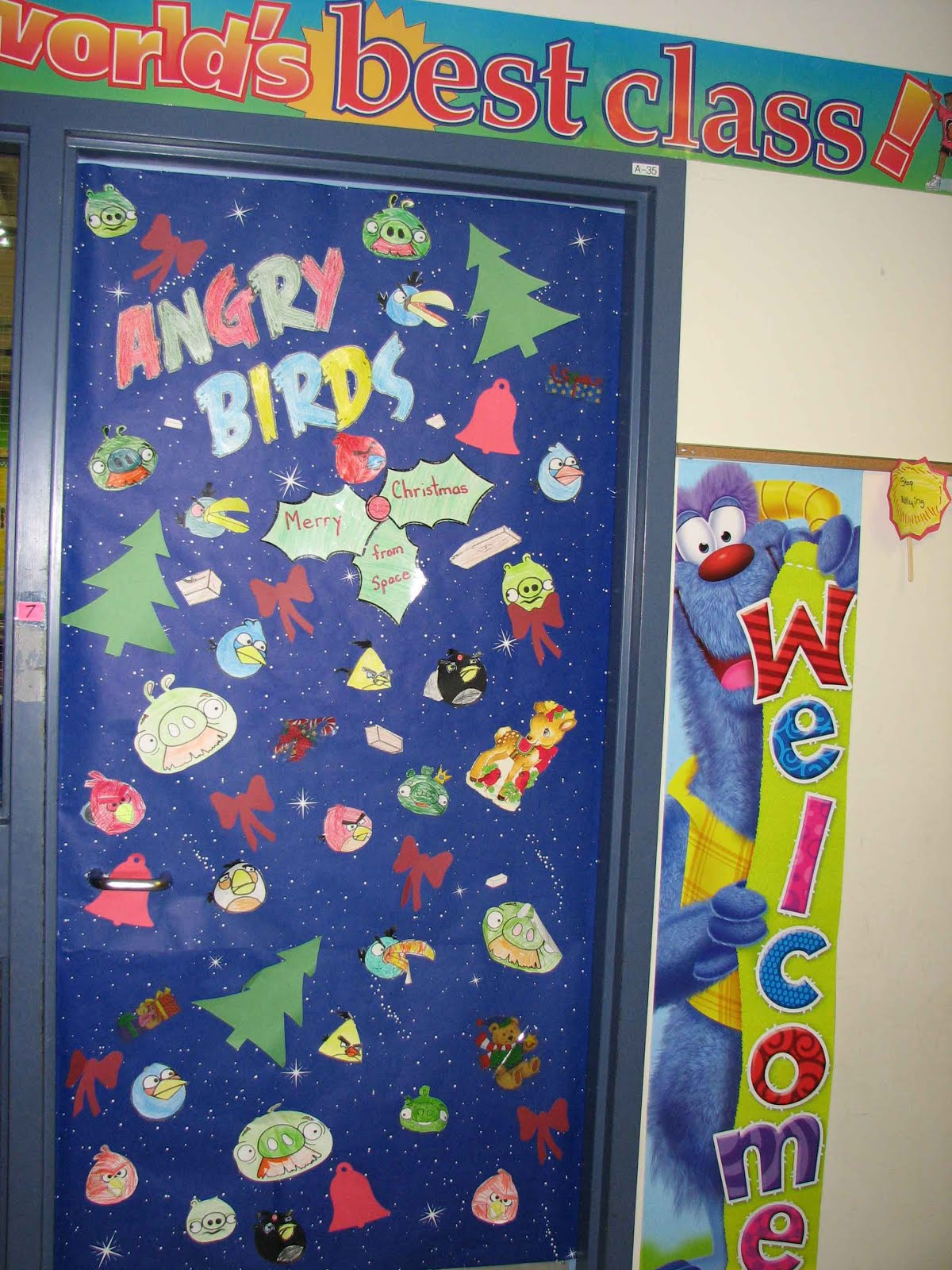 Christmas Door Decorating Contest For School Door decorating contest.