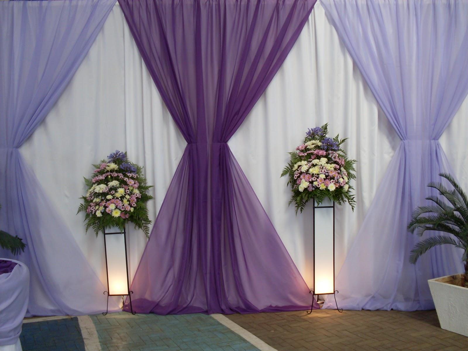 Decoracao De Sala Lilas ~ Geo e Jack Decorações para Festas decoração lilás,roxa e rosa