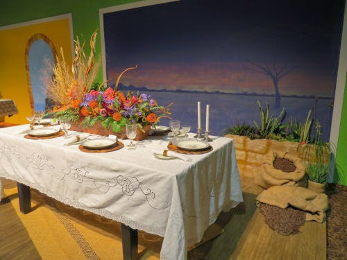 Philadelphia Flower Show 2105- Tables: Out of Africa