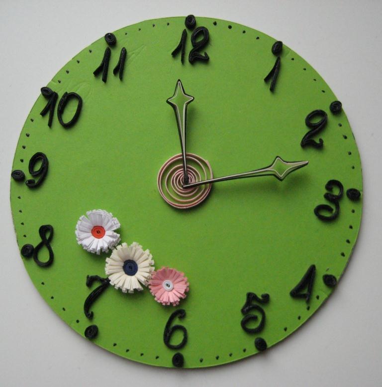 часы сделать своими руками время деньги