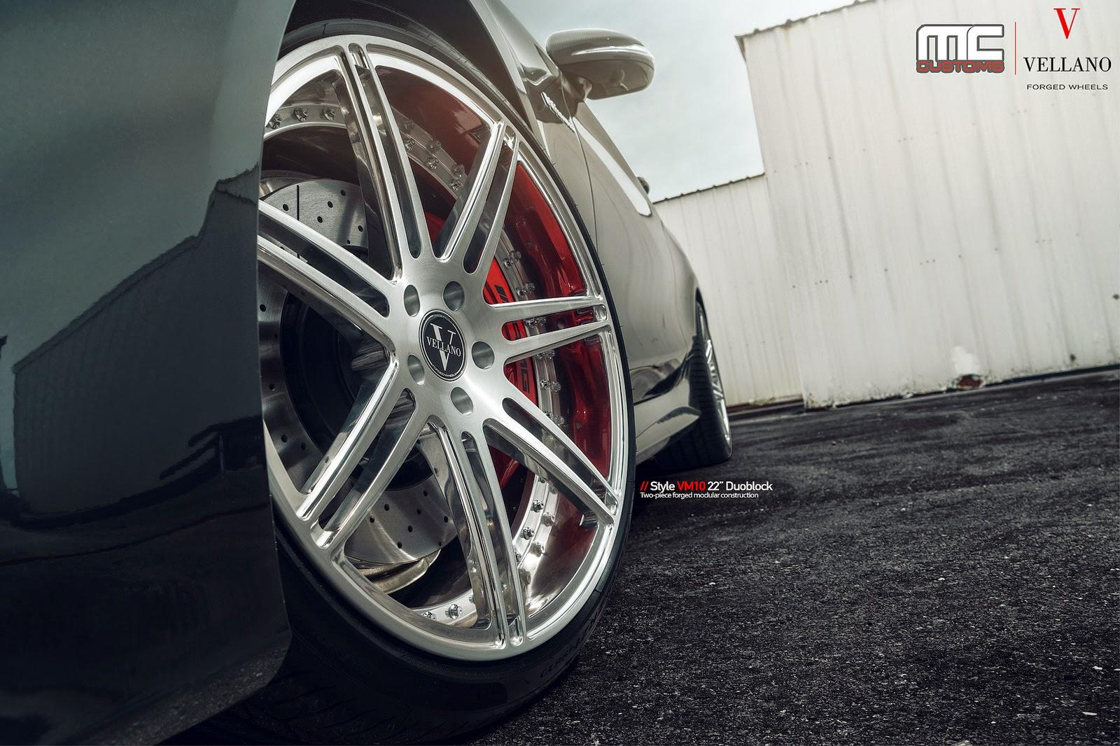 Mercedes-Benz S63 AMG On Vellano VM10 22'' Duoblock By MC Customs