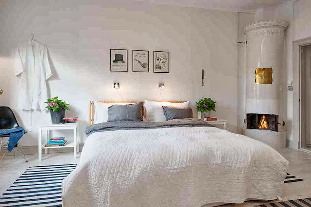 Aranżacja sypialni w skandynawskiej stylistyce