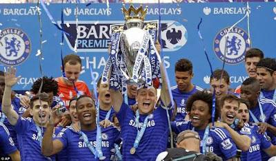 Klasemen akhir Premier League dan top skor terbanyak musim 2014 -2015