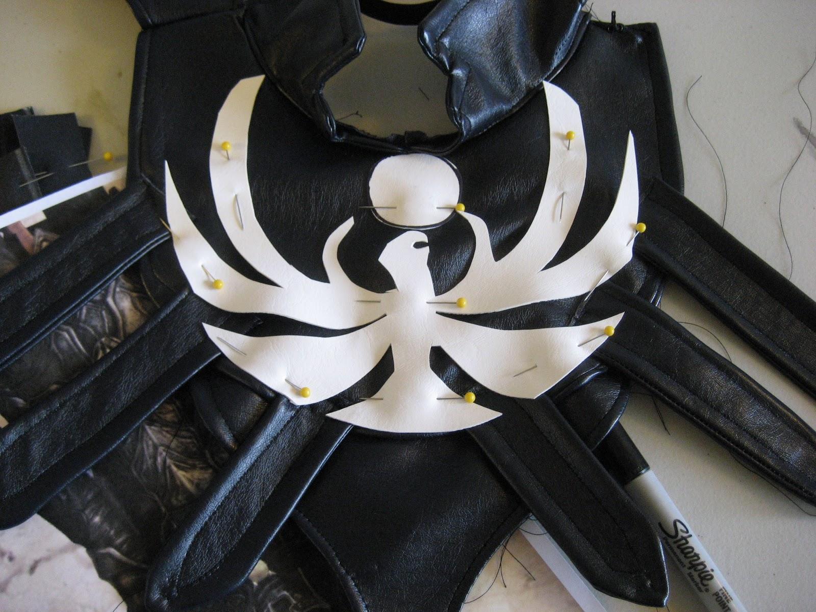 Beebichus Costume Creations How To Make Skyrim Armor Nightingale