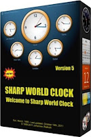 Free Download Sharp World Clock 5.85 with Keygen Full Version