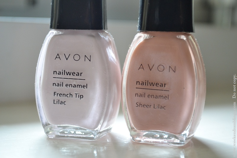 avon french manicure kit review