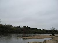 Paisaje de playa  Río Yí  Durazno uruguay