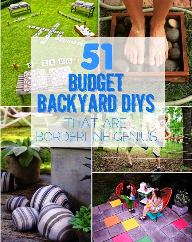 Ideas Products 51 Budget Backyard Diys That Are