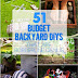 51 Budget Backyard DIYs That Are Borderline Genius