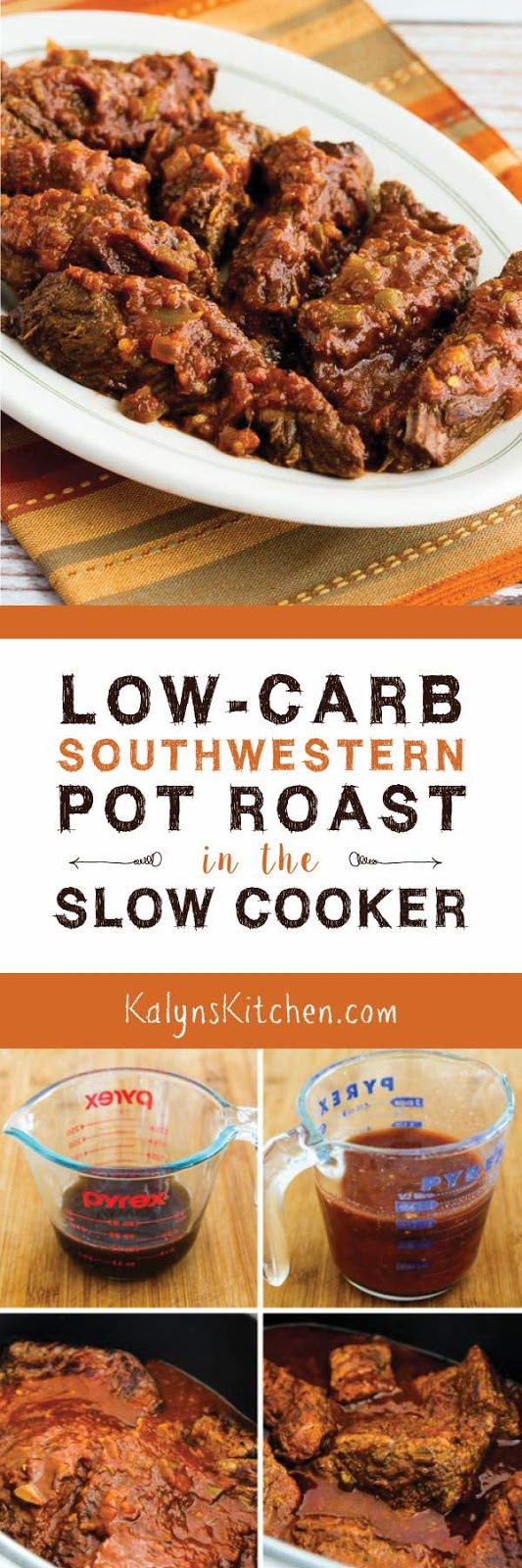 Kalyn's Kitchen®: Low-Carb Southwestern Pot Roast in the Slow Cooker