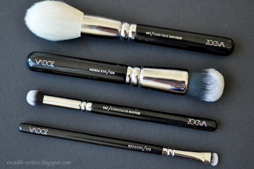 More Zoeva Brush Reviews: 101 Luxe Face Definer, 102 Silk Finish, 142 Concealer Buffer & 226 Smudger