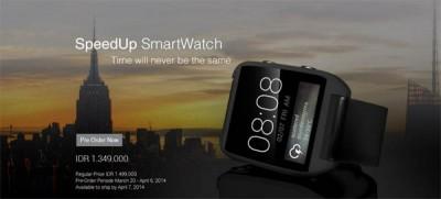 Pre-Order SpeedUp SmartWatch, Harga Rp1,3 Juta-an