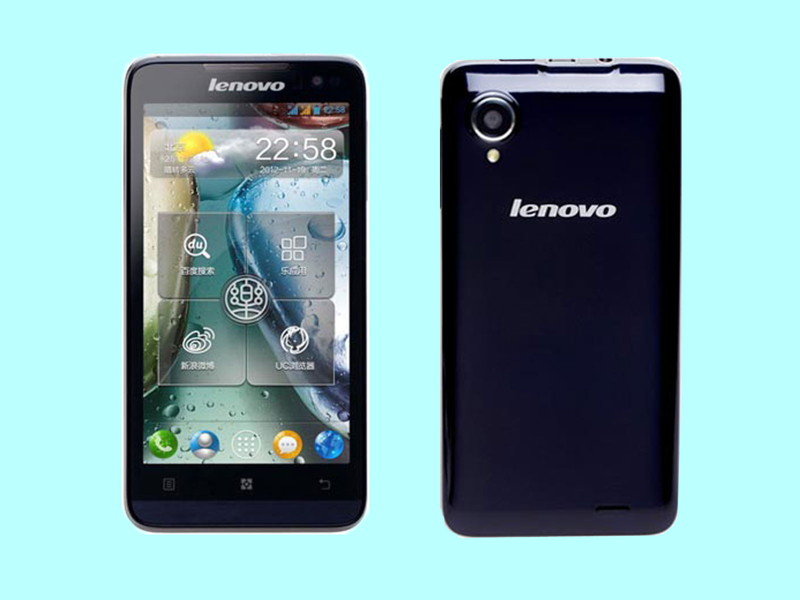 New Mobile Phone Photos Lenovo K800 Android Mobile Phone