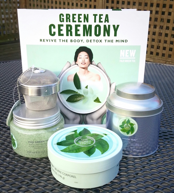 The Body Shop Fuji Green Tea Detox collection